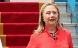 Hillary Clinton has arrived in Israel for talks expected to focus on Iran, the peace process and Egypt