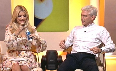 Holly Willoughby at first thought bidet actually meant toilet which caused her horror photo