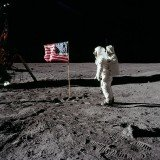 Images taken by NASA spacecraft Lunar Reconaissance Orbiter (LRO) show that the American flags planted in the Moon's soil by Apollo astronauts are mostly still standing
