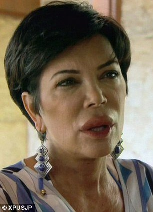 It's unclear exactly what caused the reaction and Kris Jenner has since revealed that she's having tests to get to the bottom of it