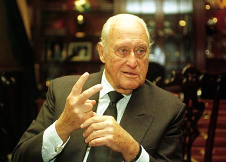 Joao Havelange, former FIFA president, was paid huge sums in bribes by collapsed marketing company ISL