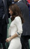 Kate Middleton looked to have referenced tennis style from 1920 with her Wimbledon outfit choice