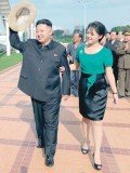 Kim Jong-Un, believed to be in his late 20s, has since adopted a warm public persona, being photographed at fun fairs and pop concerts with his young wife Ri Sol-Ju