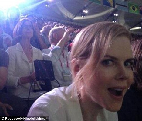 Nicole Kidman attended the Opening Ceremony of the Olympic Games and she looked younger than ever