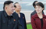 "North Korean media reports referred to Kim Jong-Un attending the opening of an amusement park with his wife, ""Comrade Ri Sol-Ju"""