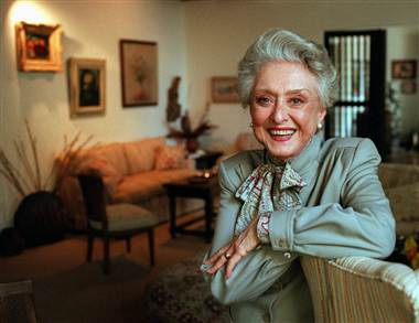 Oscar winning actress Celeste Holm died Sunday aged 95 photo