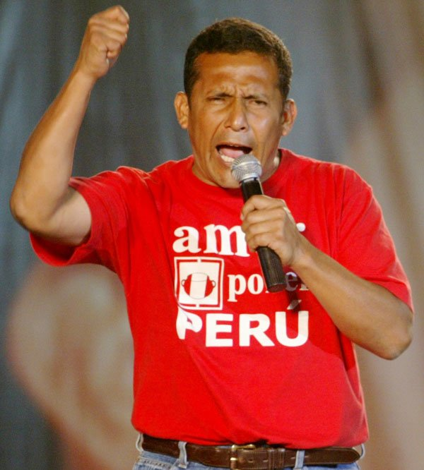 Peruvian President Ollanta Humala has marked his first year in office by pledging to increase social spending to help the country's poorest people