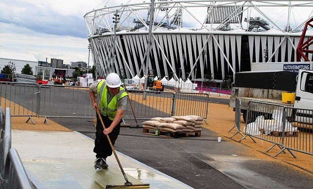 Preparations for London 2012 are intensifying with the opening ceremony just 11 days away