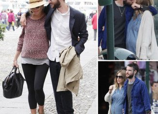 Sienna Miller and fiancé Tom Sturridge are claimed to have welcomed their first child over the weekend