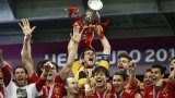 Spain wins Euro 2012 final after beating Italy with 4-0 and claiming a successive European crown to add to their 2010 World Cup triumph