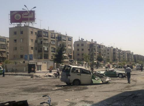 Syrian diplomats' defection comes amid intensifying clashes in the key city of Aleppo