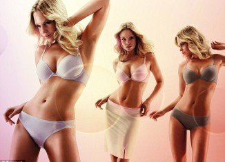 Triumph Body Make-Up line features a range of nude, cream and violet slips, body dresses, bras and pants and is designed to truly feel like a second skin