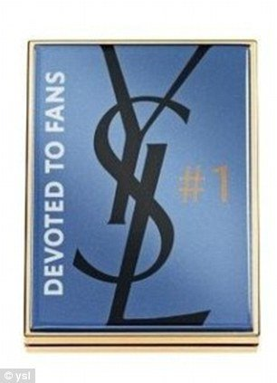 Yves Saint Laurent has launched a limited edition Facebook inspired eyeshadow palette on July 19 photo