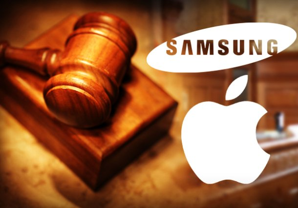 A US court has ruled that Samsung should pay Apple $1.05 billion in damages in an intellectual property lawsuit