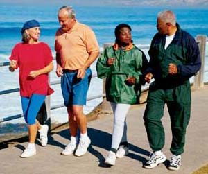 A new research has found that getting enough exercise in midlife will help protect your heart