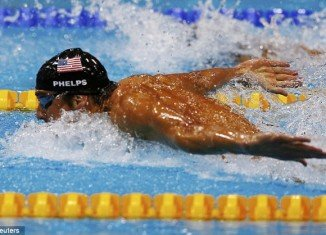 An era of unprecedented sporting domination came to an end at the London Olympics today, with a stunning victory for Michael Phelps in his last competitive race