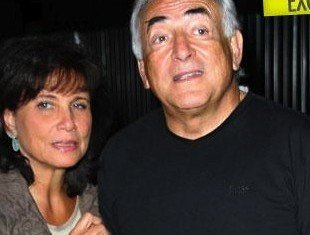 Anne Sinclair, wife of former IMF chief Dominique Strauss-Kahn, has indirectly confirmed that they have separated, after he was embroiled in a sex scandal