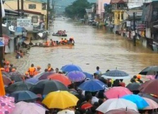 At least 16 people have died in severe floods in Philippine capital, Manila