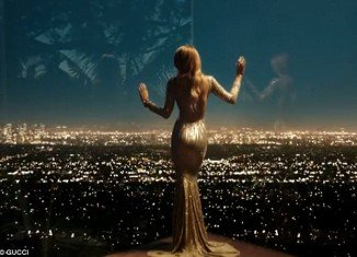 Blake Lively is a picture of Hollywood glamour in the new advert for Gucci's Premiere perfume