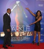 Bobbi Kristina Brown and Nick Gordon took Whitney Houston's place at the premiere on Sparkle last night