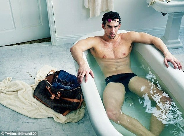 By posing for the Louis Vuitton campaign, Michael Phelps may be stripped of his London Olympics medals