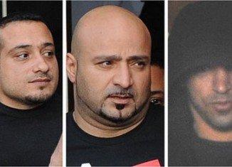 Faisal Hammash, Omar Sami Qaradhi and Motaz Al-Junadi are charged with sex offences in Antrim