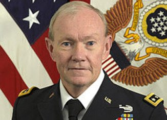 "Gen. Martin Dempsey, chairman of the US Joint Chiefs of Staff, said Syrian regime forces would be ""taxed"" after fighting for almost 18 months"