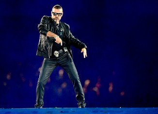 George Michael says he has no regrets about performing his new single at the London 2012 closing ceremony