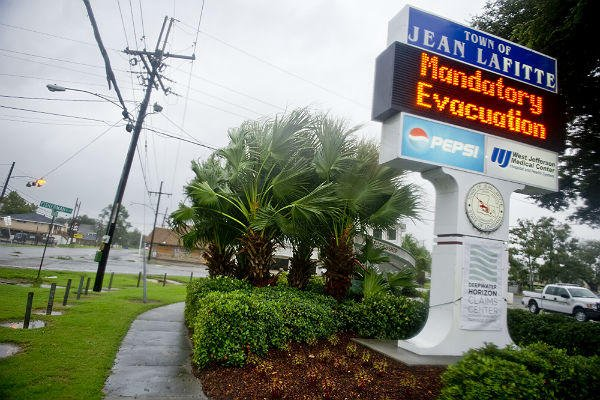 Hurricane Isaac will hit Louisiana exactly seven years after it was devastated by Hurricane Katrina, but it is a much less powerful storm