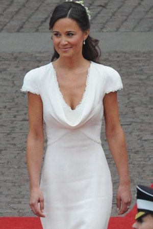 Karl Lagerfeld was commenting on Pippa Middleton's style, when he admitted that he admired only the rear view of her