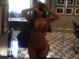 Kim Kardashian revealed her diet secrets as she shared another picture of herself in a bikini on her Twitter page