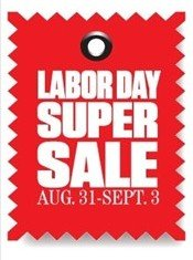 Labor Day Super Sale at Concord Mills