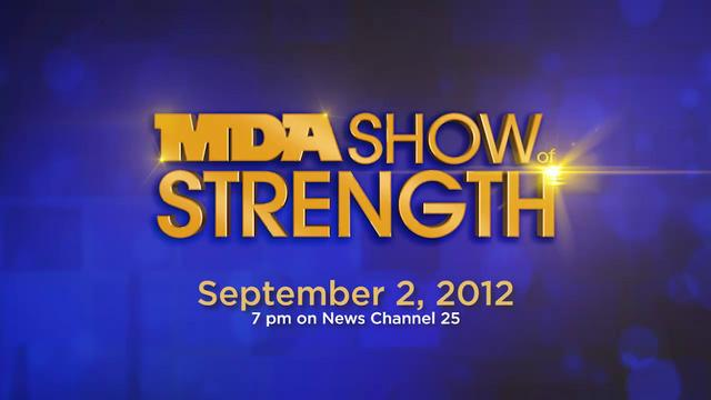 MDA Labor Day Telethon becomes MDA Show of Strength starting with 2012 edition