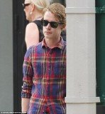 Macaulay Culkin stepped out yesterday in New York City looking the best he has in a long time