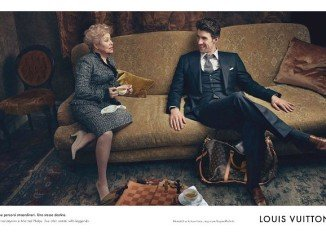 Michael Phelps stars alongside former Soviet gymnast Larisa Latynina in Louis Vuitton's latest Core Values campaign