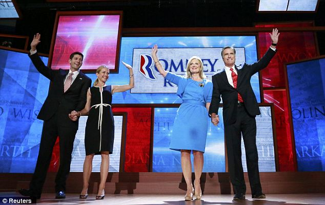 Mitt Romney has accepted the Republican presidential nomination at the partys convention in Florida  photo