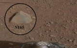 NASA's Mars Science Laboratory Curiosity has zapped its first Martian rock