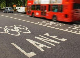 Olympic bus crash kills cyclist in Hackney