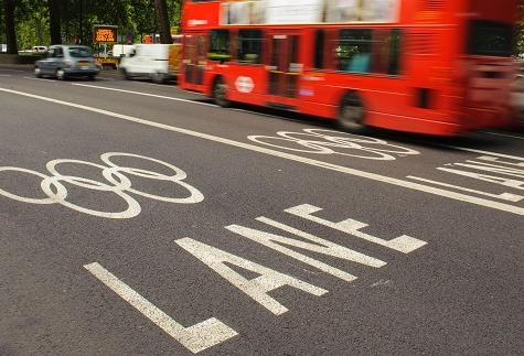 Olympic bus crash kills cyclist in Hackney photo
