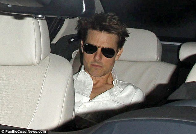 Pictures of Tom Cruise from last month have shown what the strain of the collapse of his marriage to Katie Holmes has had on him, as he had shed 14 lbs