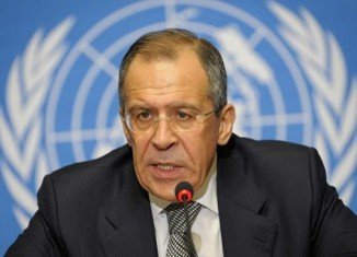 "Russian Foreign Minister Sergei Lavrov said there should be no outside interference and countries should ""strictly adhere to the norms of international law"""