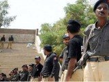 Several Pakistani police officers in the Sindh town of Gambat have been suspended after they were accused of parading a couple naked in public