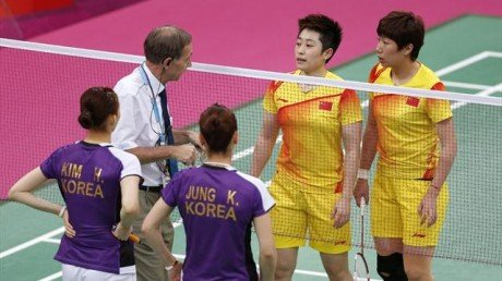 The Badminton World Federation has charged eight female Olympic badminton players with not using one's best efforts to win a match