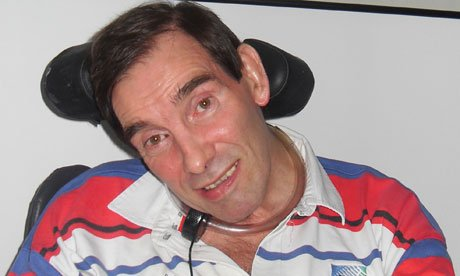 "Tony Nicklinson was paralyzed from the neck down after suffering a stroke in 2005 and described his life as a ""living nightmare"""