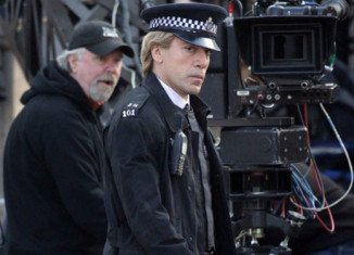 Trailer of the latest James Bond film, Skyfall, has given fans their first glimpse of Oscar-winning actor Javier Bardem's blond villain in action