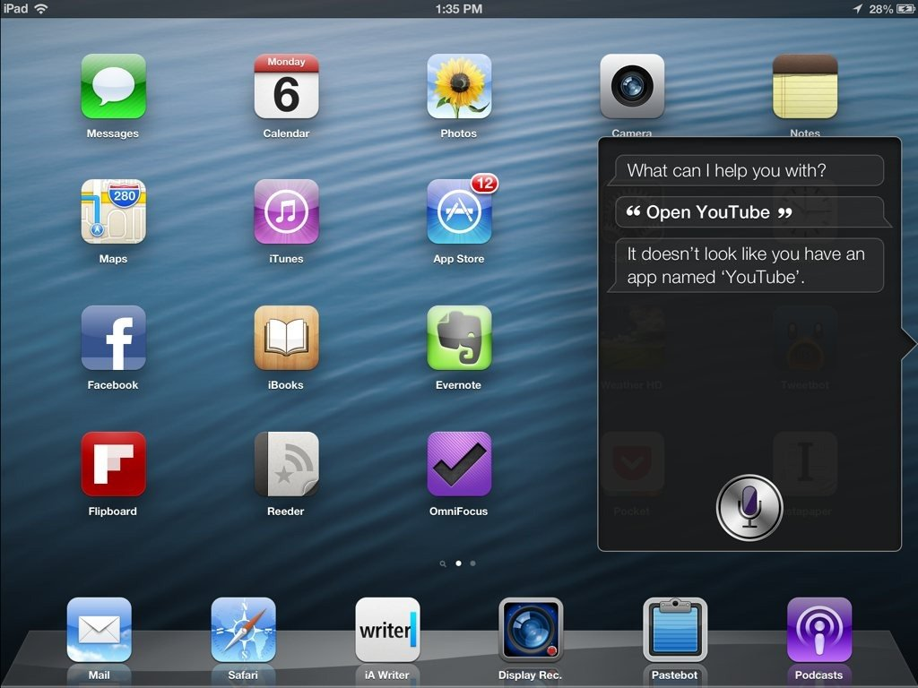 YouTube app is missing from the next version of Apple's iOS6 operating system