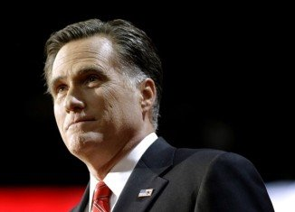 A secretly filmed video has emerged showing Mitt Romney disparaging Barack Obama voters at a private donor dinner