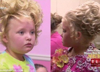 Alana Thompson, also known as Honey Boo Boo, and her family visited a wig store during the latest episode of reality TV show Here Comes Honey Boo Boo