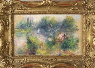 An artwork by French master Pierre-Auguste Renoir bought at a flea market in the US may turn out to be a rare bargain