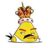 Freddie Mercury as an Angry Birds character